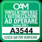 Logo OAM (Portale Agenti e Mediatori)